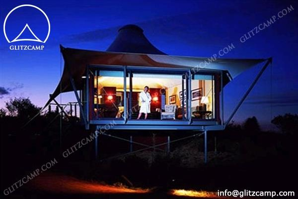 tents hotel - Luxury lodge tents- eco tent hotel-glamping tent resort tents Glitzcamp (2)