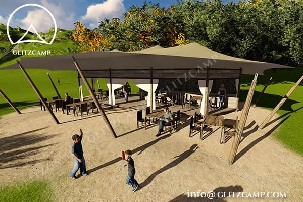... Glitzc& Twopeak Safari Tent Eco Lodge Tent hotel resort tents - spa u0026 resort tents - & Safari Lodge Tent - Portable Safari Lodge for Sale - Glitzcamp ...
