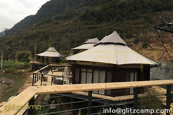 luxury glamping lodge tent - african safari tents hotel - glamorous camping resort - special tourist experience (40)