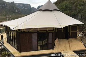 Luxury Glamping Tents to Buy - Safari Tent with High Peaks