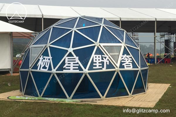 geodoeme-Glitzcamp glass Dome house for camping Glamping dome hotel eco living dome (2)