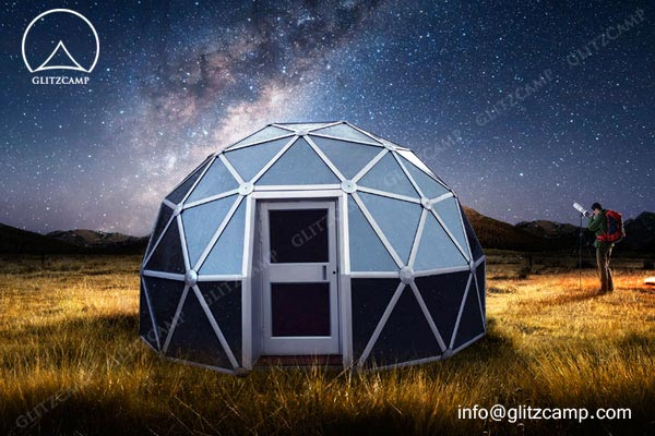 Glass Dome House Glitzcamp Glamping Tent Hotel Luxury