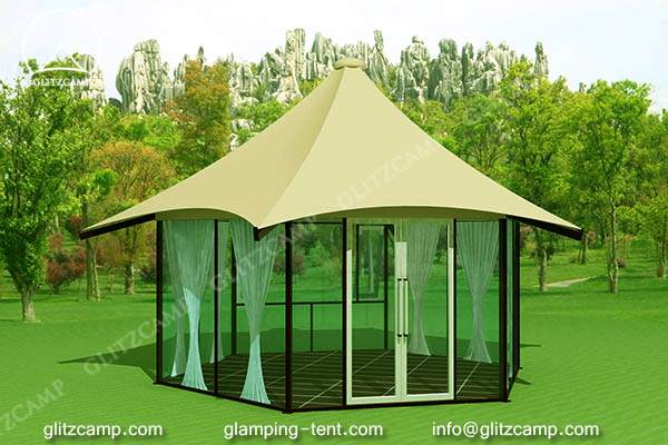 glamping tent for sale - Luxury lodge tents- eco tent hotel-glamping tent resort tents Glitzcamp (8) 2