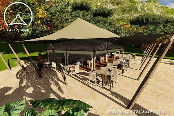 Glitzcamp Twopeak Safari Tent Eco Lodge Tent hotel resort tents - spa & resort tents - safari glamping experience (41)