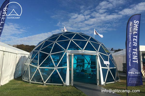 dome structure-polycarbonate-glass dome house-eco dome tent-geo domes for tent resort (1)