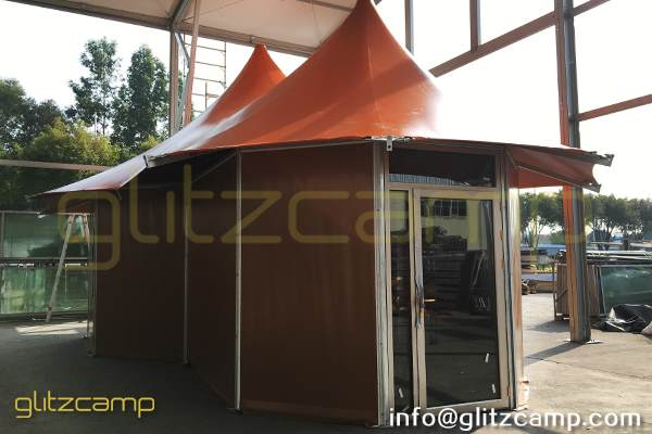 safari tent - safari glamping tents for sale - luxury glamping accommodation - tent house for 2 - 3 people - outdoor glamping experience (25)