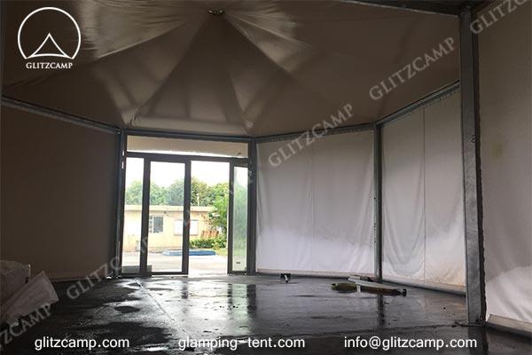 two peak Safari lodge tent Safari tents glitzcamp glamping tent 1