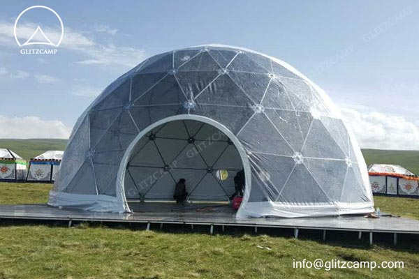10m-geo-dome-restaurant-for-camping-in-tent-resort-glitzcamp-glamping tent3