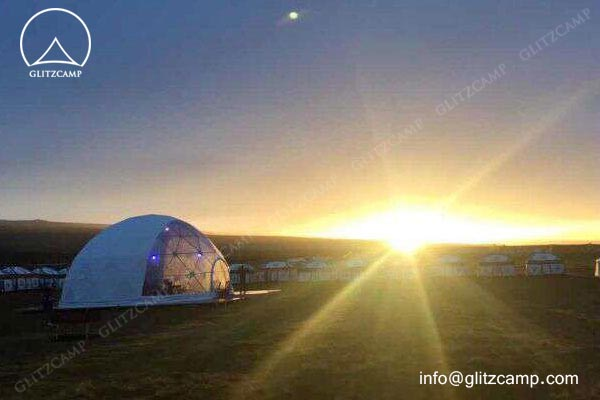 10m-geo-dome-restaurant-for-camping-in-tent-resort-glitzcamp-glamping tent2