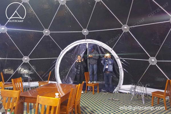 10m-geo-dome-restaurant-for-camping-in-tent-resort-glitzcamp-glamping tent6