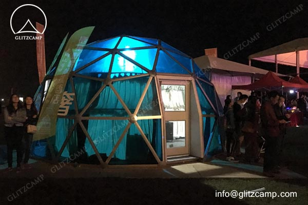 geodome house-with-Polycarbonate-panels-glamping-dome-hotel-eco-living-dome-glitzcamp glamping tent9