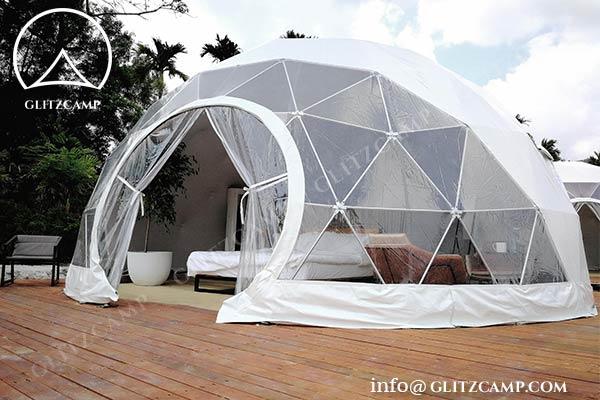 Glitzcamp eco dome house glamping dome resort 5m geodome (1)
