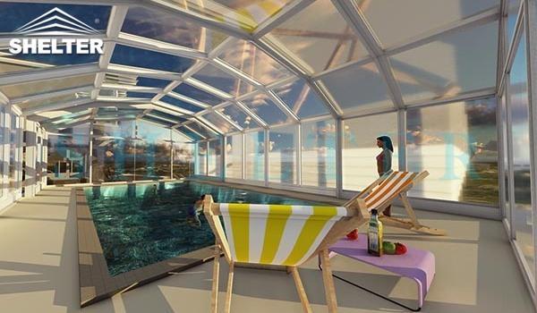 hot tub enclosures - retractable patio enclosures - telescopic sunroom extension - above ground or inground swimming pool enclosures - enclosed porch - glass polycarbonate dome spa enclosure (25)