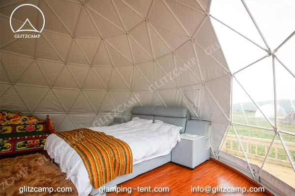 Glitzcamp glamping dome eco living dome house 6m resort dome