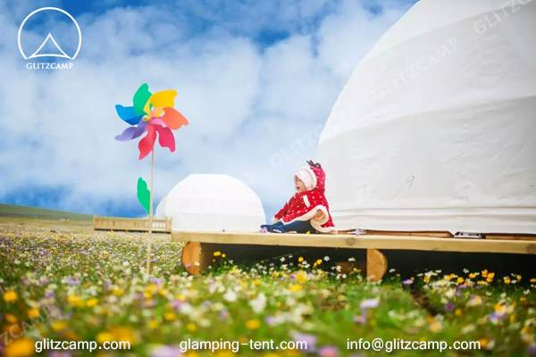 glitzcamp glamping dome eco living dome 6m resort dome