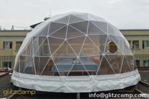 6 meters Diameter Glamping Dome Igloo For Sale - Geodesic Dome Hotels
