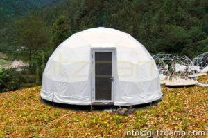 Dia.6m Geodome Tents for Luxury Dome Resort - Couple/Family Glamping Lodge