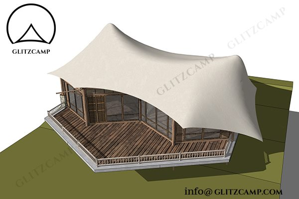 african safari tents for glam camping hotel resorts & spa-family glamping suites with bedroom toilet living room-glamping accommodation tent for 2-3 people-Glitzcamp Twopeak Safari Tent Eco Lodge Tent hotel resort tents - spa & resort tents - safari glamping experience (37)