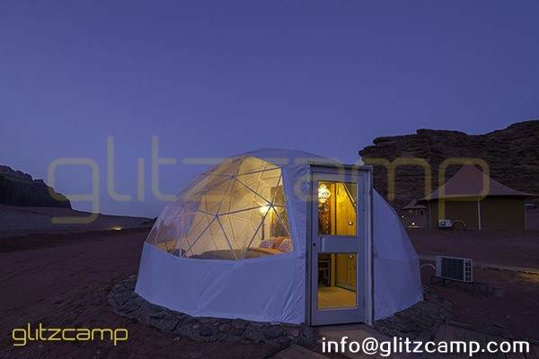 eco living dome tent design for sale - luxury desert dome camp glamping hotels (2)