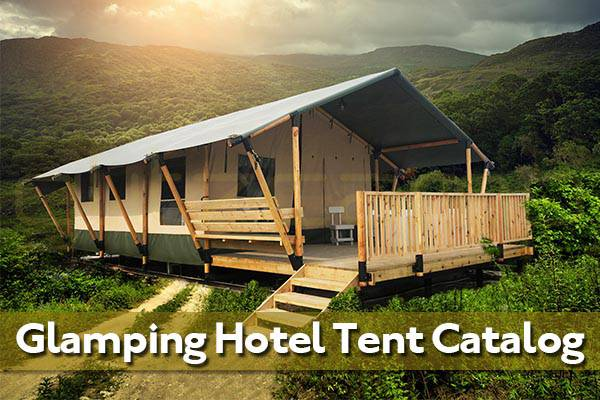 Glitzcamp Glamping Hotel Tent Catalogue