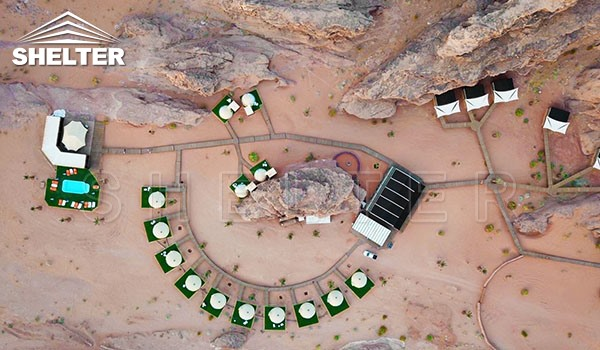 SHELTER galmping domes ECO living Dome hotel -Jordan-Wadi Rum (8)
