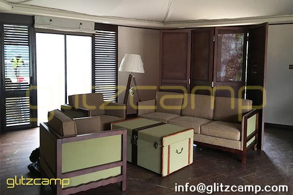 ensuite safari tent for sale-luxury-glamping-campsite-retreat-resort-hotel-tents-in-Africa-US-UK-Australia-lodge-tent-accommodation-with-bathroom-for-2-3-people 7