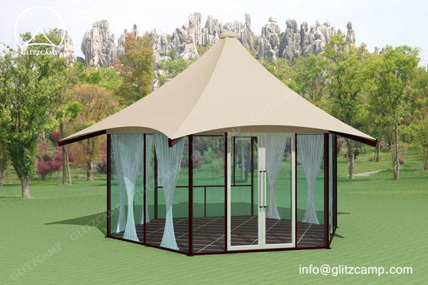 luxury lodge tents - Glitzcamp tent - luxury glamping lodge - tents hotel and resort for sale (7)