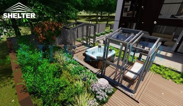 spa enclosure for sale - sunroom extension - backyard sun house (2)