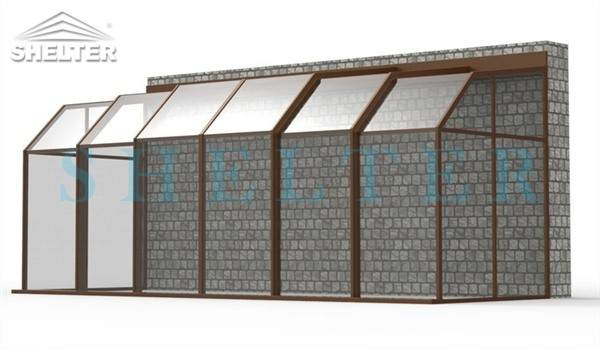 polycarbonate enclosures - retractable patio enclosures - telescopic sunroom extension - above ground or inground swimming pool enclosures - enclosed porch - glass polycarbonate dome spa enclosure (30)