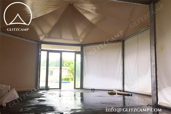african safari tent - glamping safari tents - Two peak african style tents - glamping accommodation - safari living experience (1)