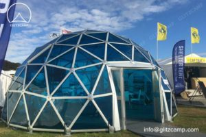 8m Polycarbonate Dome Structure For Exhibitions