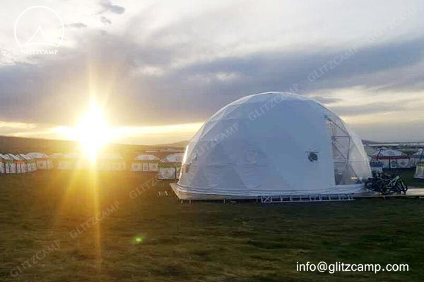10m-geo-dome-restaurant-for-camping-in-tent-resort-glitzcamp-glamping tent1