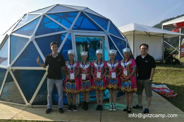 geodome-house-with-Polycarbonate-panels-glamping-dome-hotel-eco-living-dome-glitzcamp glamping tent4
