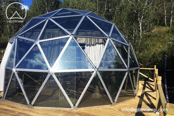 glass dome house-recreation-eco dome tent geo domes for tent resort (8)