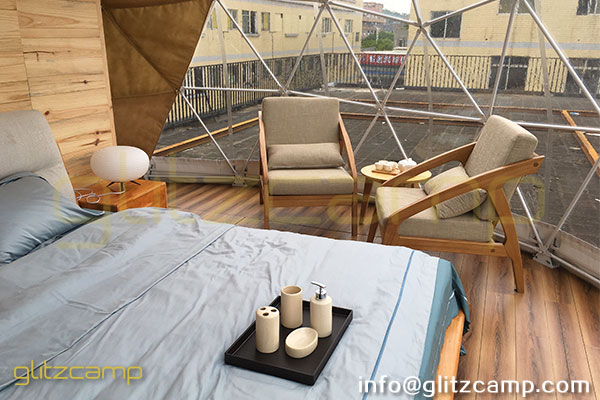 eco glamping dome house - igloo dome tent resort - tents hotel (25)