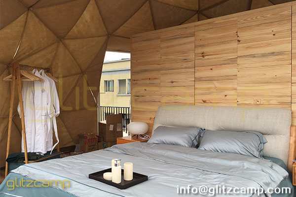 eco glamping dome house - igloo dome tent resort - tents hotel (32)
