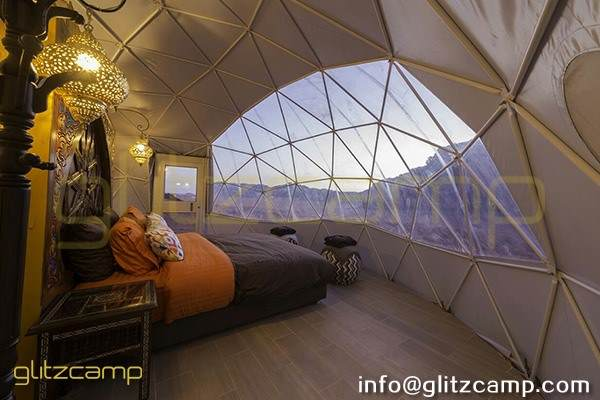 eco living dome tent design for sale - luxury desert dome camp glamping hotels (4)