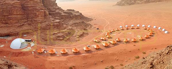 luxury glamping campsite in Jordan, Saudi arabic, UAE, Dubai