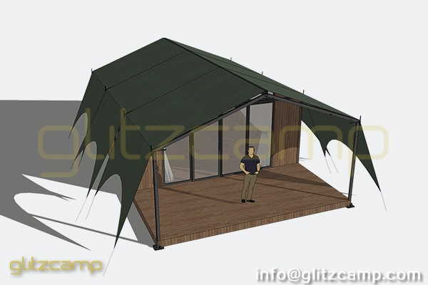 a frame safari tents for lounge banquet family glamping tent suite (6)