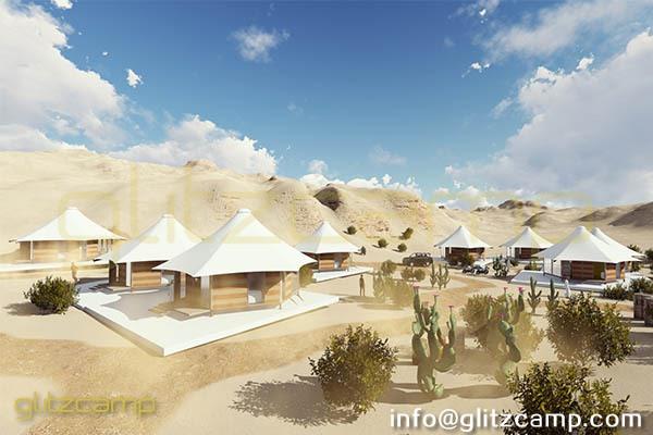 luxury lodge tent for glamping resort project in desert Arabic UAE Duabi Jordan Qatar India (1)