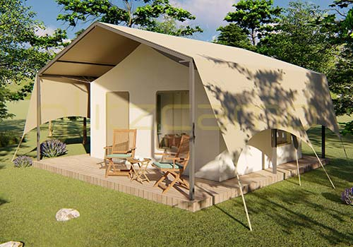 african style lodge tent - wild-safari-tents-house---african-style-glamping-tents