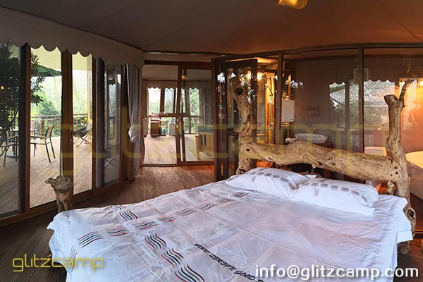 luxury glamping tent multi peaks lodge tent for sale-luxury lodge glamping in jungle resort-deluxe outdoor accommodation in glamping lodges-glitzcamp (7)