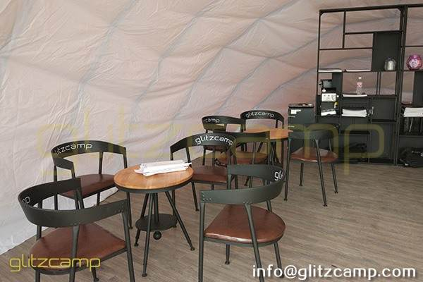 cocoon glamping tent for lounge and studio-eco tent cocoon for eco resort-autonomous tent for 2 person glamping-cocoon dome pod house for sale-glitzcamp (4)