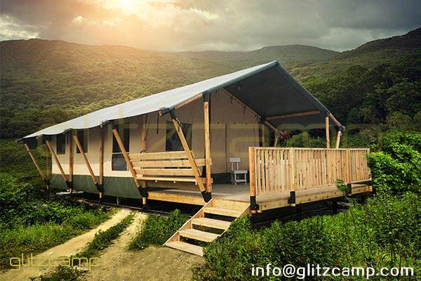 safari tent hotel-safari lodge tent house-glamping safari lodges for sale-luxury safari tent lodge-glitzcamp (1)