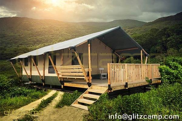 safari tent hotel-safari lodge tent house-glamping safari lodges for sale-luxury safari tent lodge-glitzcamp (1)