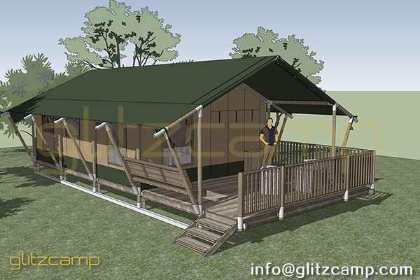safari tent hotel-safari lodge tent house-glamping safari lodges for sale-luxury safari tent lodge-glitzcamp (4)