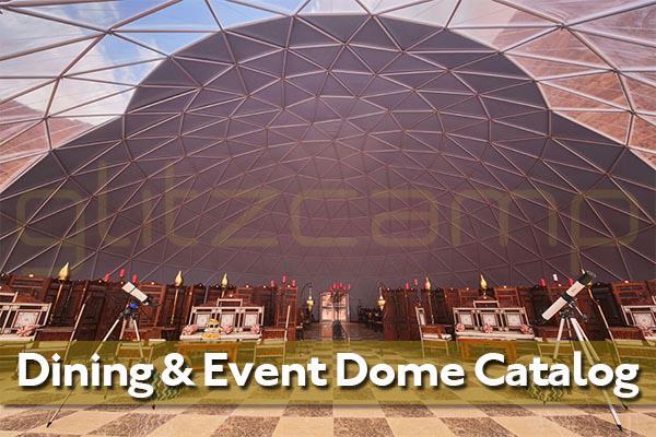 Glitzcamp Dining & Event Dome Catalogue