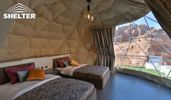SHELTER galmping domes ECO living Dome hotel -Jordan-Wadi Rum (8)